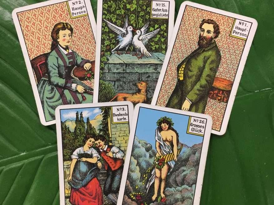 Kipperkarten – KARTENLEGEKURS  mit Anna-Maria Wolf – 13. Oktober 18
