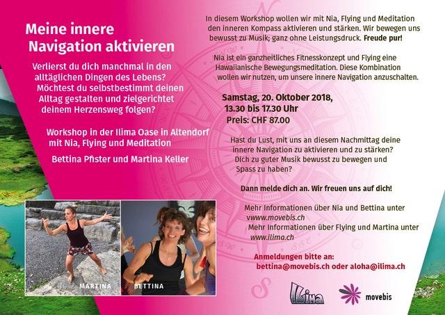 Bewegungsworkshop – Meine innere Navigation aktivieren – 20.10.18