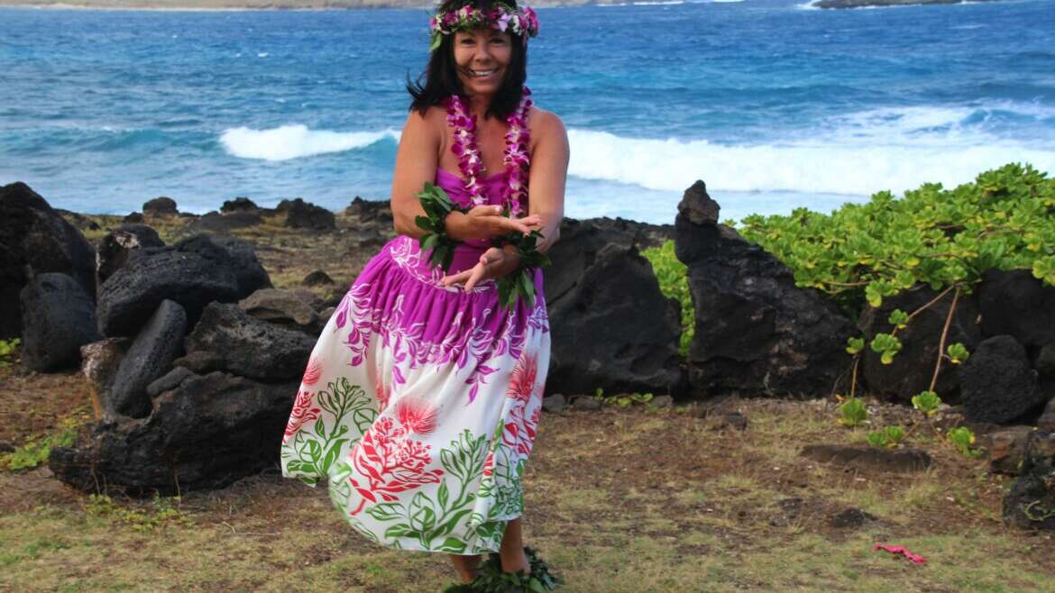 Hawaiianischer HULA TANZ mit Bettina Pomaikai Fron 24. August 2019