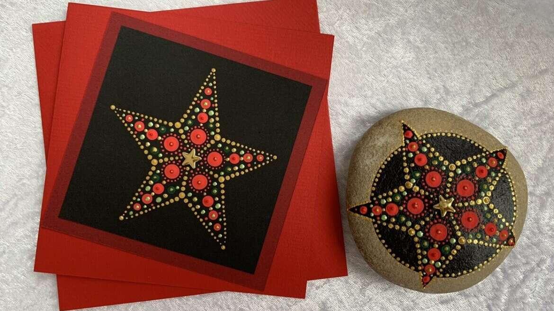 Weihnachtszauber (Mandala)-Karten & Mandala-Steine  Workshop mit Martina Keller