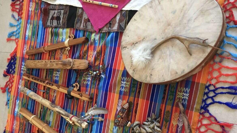 KONZERT Indianerflöten & Trommel mit Melanie Jucker & Robert Artho