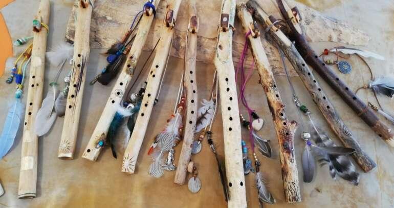 Göttinnen- & Lichtkrieger Flötenbau Workshop mit GabrieleGöbel, 11.-12.09.2021