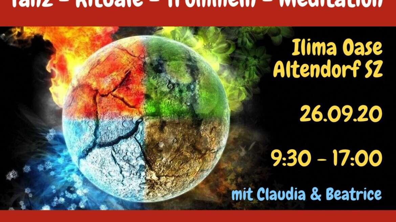 Frauenkreis: Tanz-Rituale-Trommeln-Meditation mit Claudia Schrick & Beatrice Choong, 26.09.2020